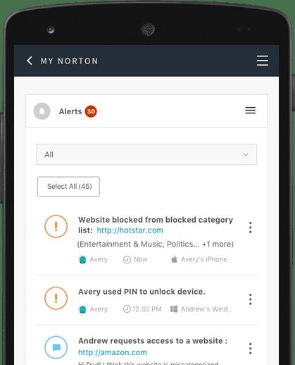 Norton family cost